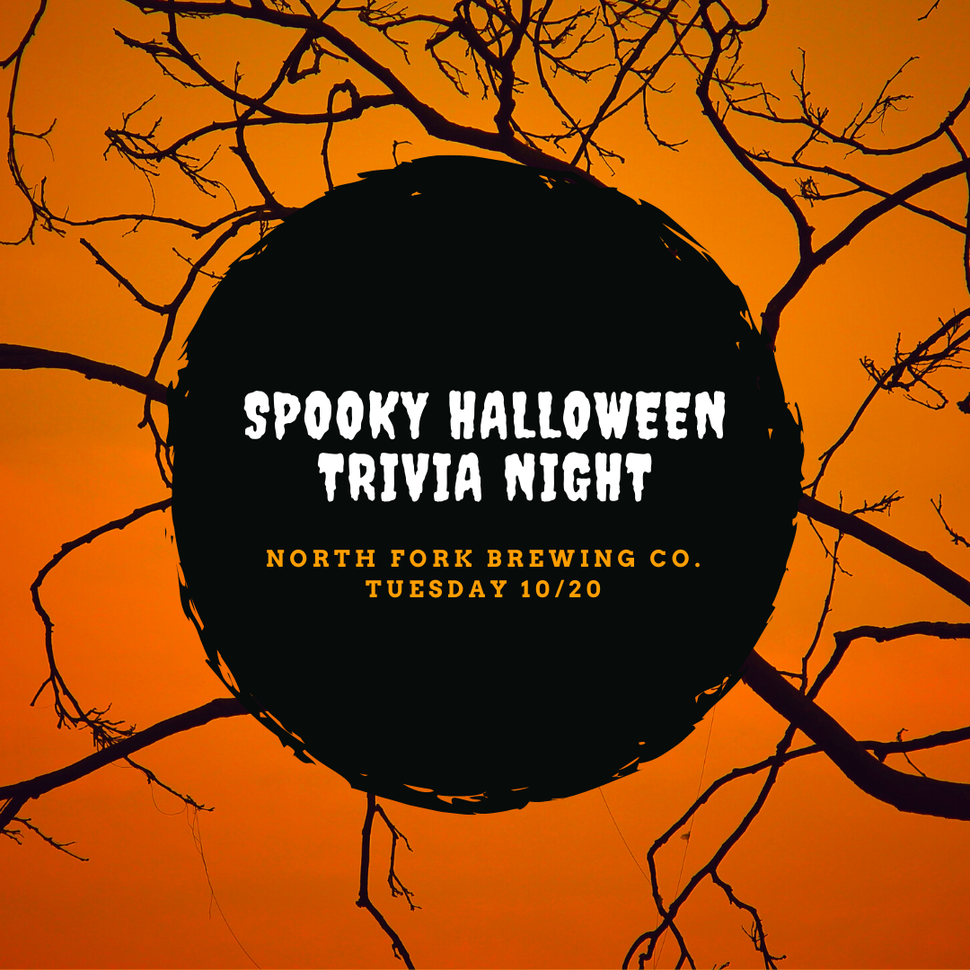 Table for 6 (Tues 10/20: Spooky Trivia)