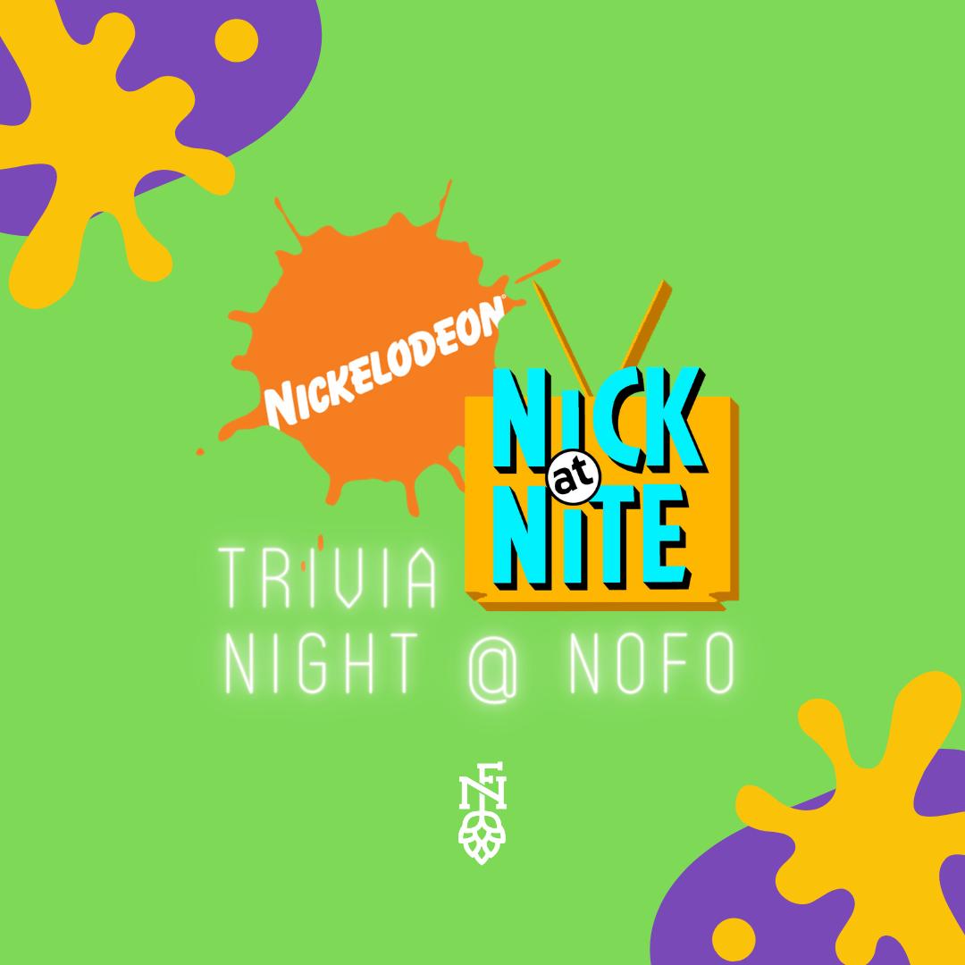 Bar Top/Table for 6 (Tues 3/2: Nickelodeon/Nick at Nite Trivia)