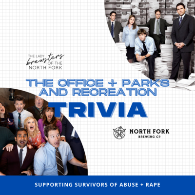 Table for Tues 4/27: The Office/Parks and Rec Trivia Fundraiser