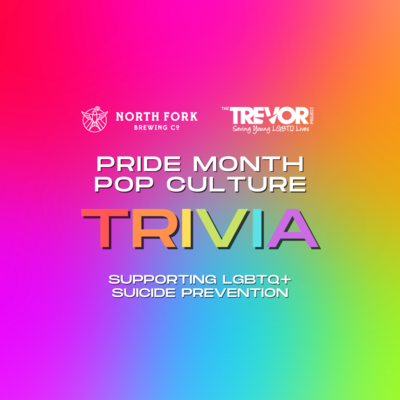Table for up to 6: Pride Trivia Fundraiser (6/22)