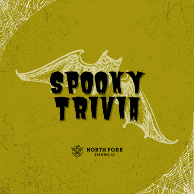 Trivia Table for 6 (Tues 10/26/21: Spooky Trivia)