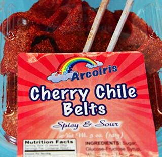 Cherry Chile Belts 5oz Tray