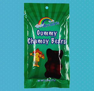 Gummy Bears Chamoy 1.75oz / 12 Pack
