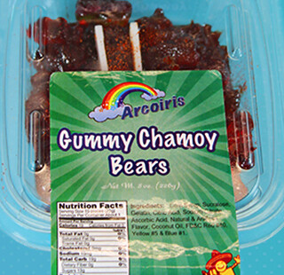Gummy Bears Chamoy 8oz Tray