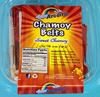 Sabrositas Belts Chamoy 5oz Tray