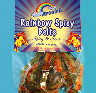 Rainbow Spicy Belts 2oz / 12 Pack