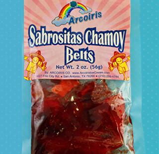 Sabrositas Belts Chamoy 12 Pack