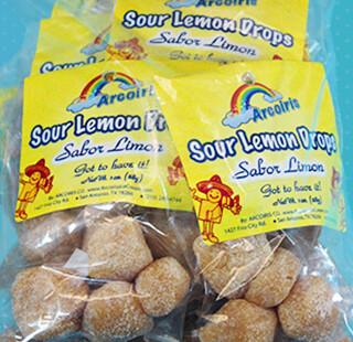 Sabrositos Sour Lemon Drops 12 Pack