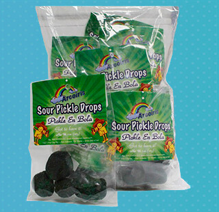 Sabrositos Sour Pickle Drops 12 Pack
