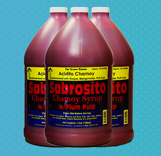 Sabrosito Chamoy Syrup Red 1 Gallon