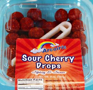 Sour Cherry Drops 5oz Tray