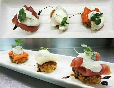 Crispy Rice Trio