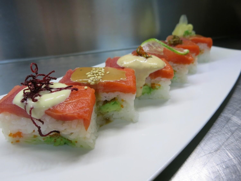 Zen Pressed Boxed Sushi