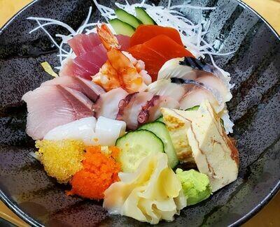 Zen Chirashi Sushi