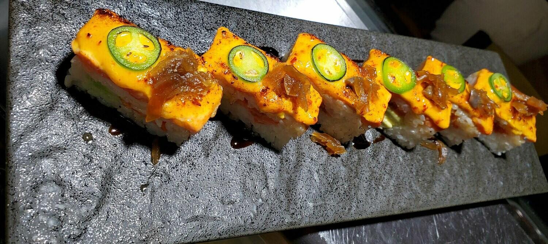 Sockeye Salmon Aburi Box