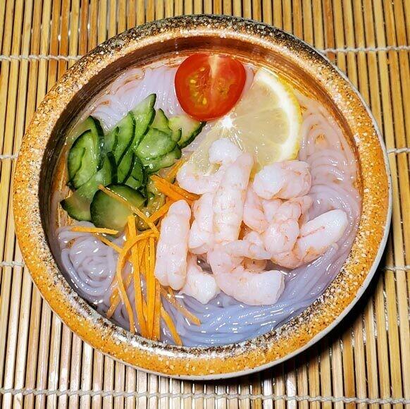 Sunomono Noodle Salad (Ebi)