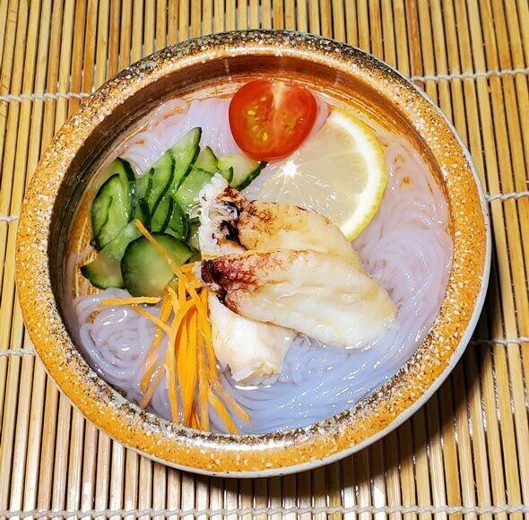 Sunomono Noodle Salad (Kani)