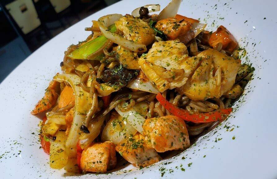 Seafood Buckwheat Soba