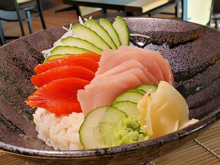 Tuna and Salmon Don