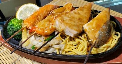 Seafood Teriyaki