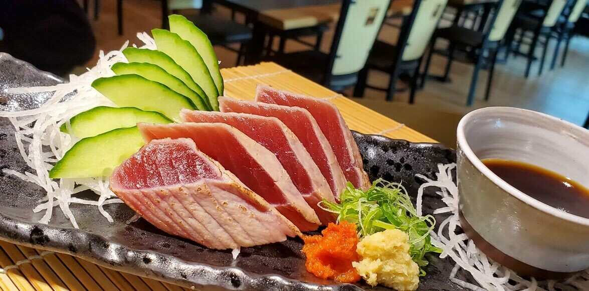 BigEye Tuna Tataki