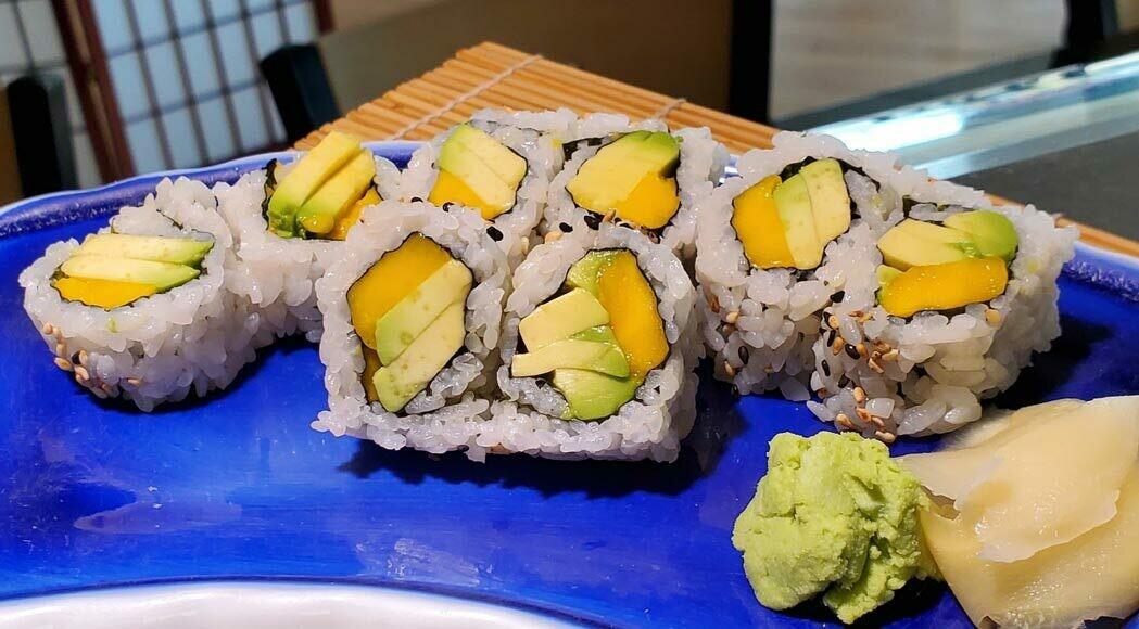 Mango & Avocado Roll