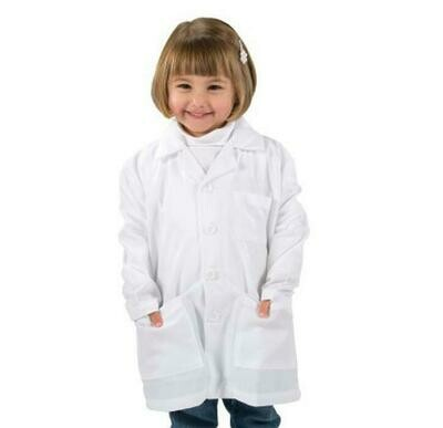 LAB COAT POLY COTTON CHILD - SMALL