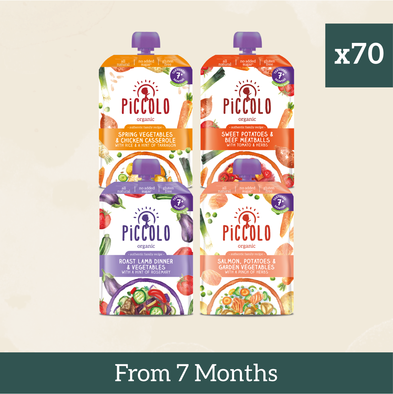 70x Gluten Free Baby Meals From 7 Months+