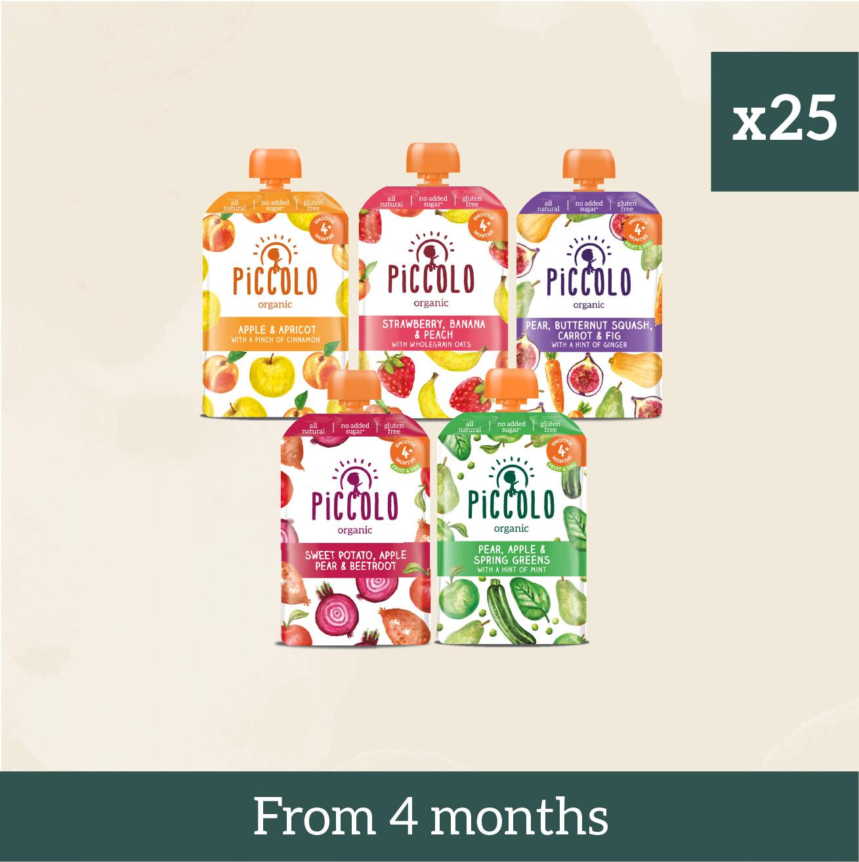 Piccolo Organic First Tastes: Dairy & Gluten Free & Veggie