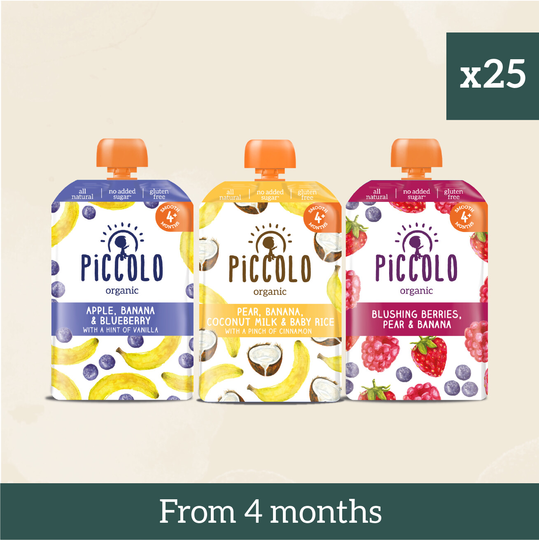 Piccolo Organic First Tastes: Go Bananas