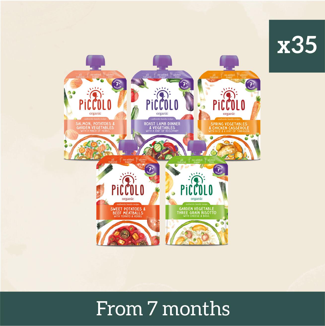 Piccolo Organic Textured Meals: Gluten Free