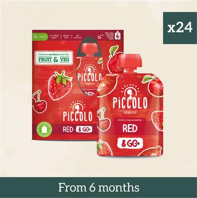 Piccolo Organic Red Fruit & Veg Multipacks