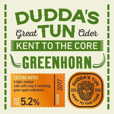 Dudda's Tun - Greenhorn Cider