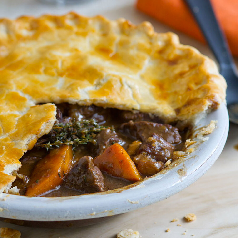 Guinness Steak Pie