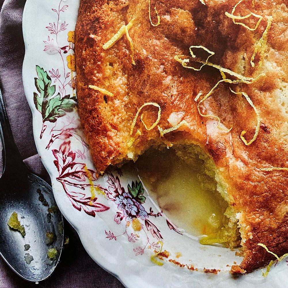 Lemon Drizzle Sponge Pudding