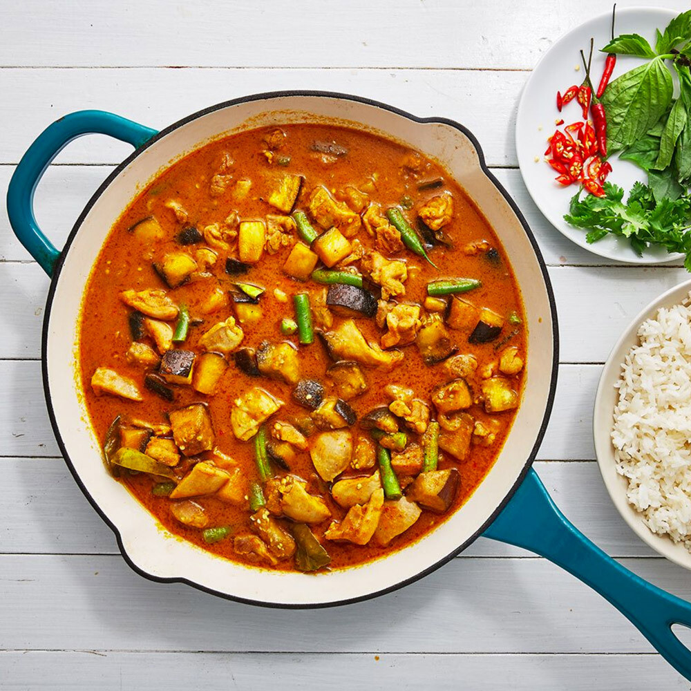 Thai Vegetarian Red Curry