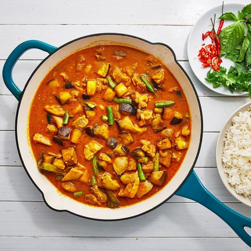 Thai Vegetarian Red Curry