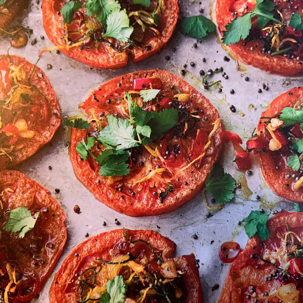 Grilled Beef Tomatoes