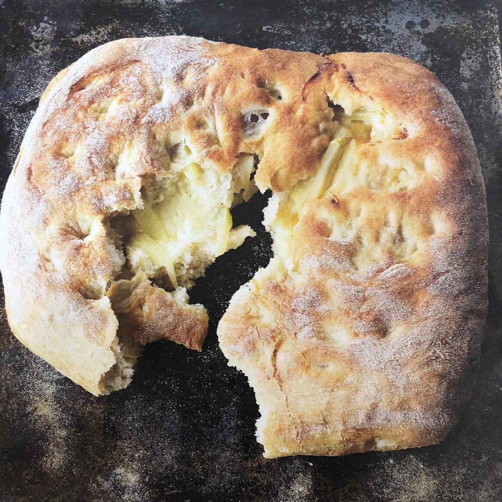 Cheddar & Apple Bread