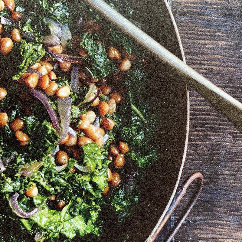 Lentil & Kale Salad