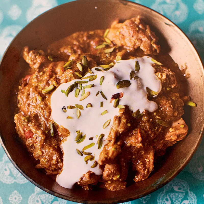 Chicken, Pistachio & Yoghurt Curry