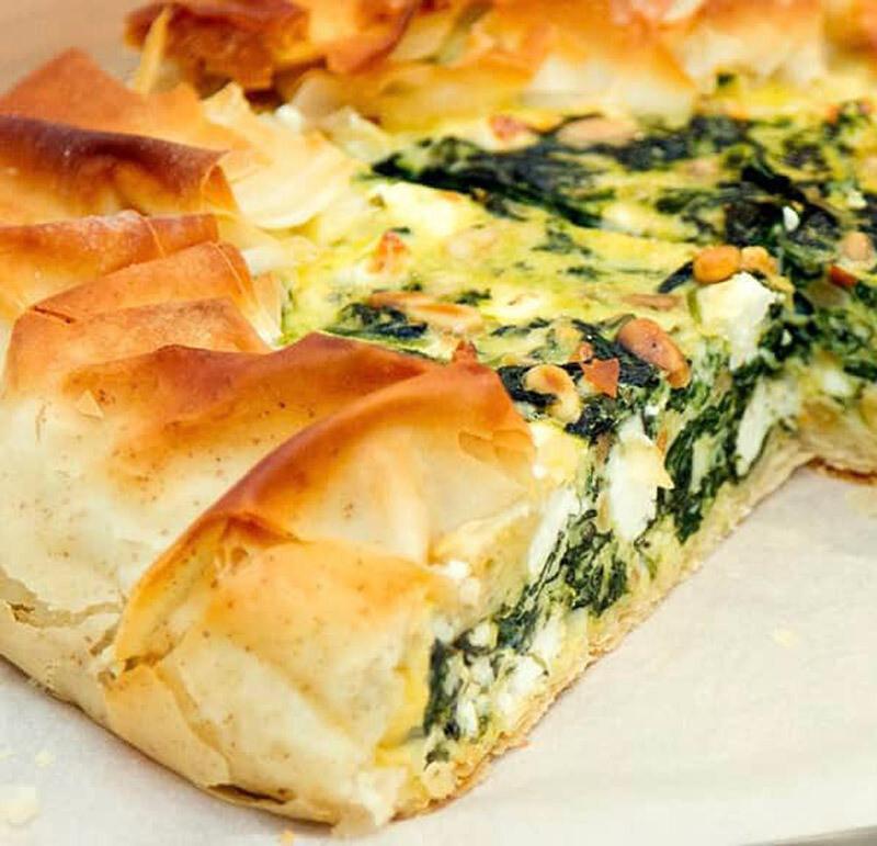Spinach Feta Tart