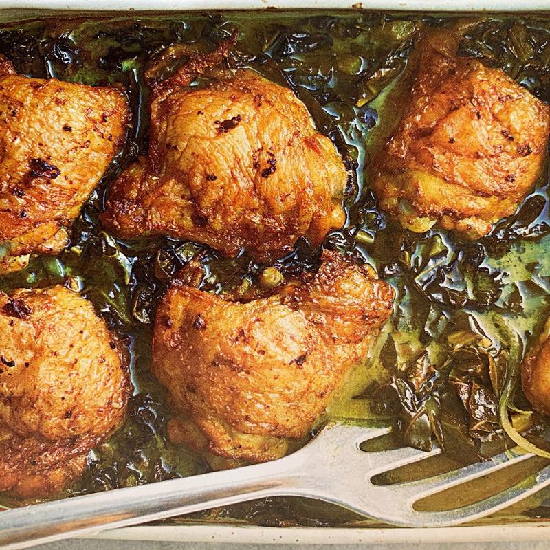 Coconut & Tumeric Baked Chicken