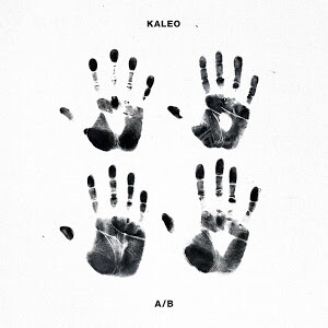 Kaleo - A/B LP Icelandic version (Black/White Split Color Vinyl)