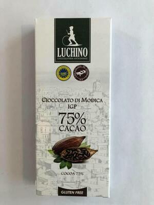 Luchino Súkkulaði 75% Cocoa 100gr.
