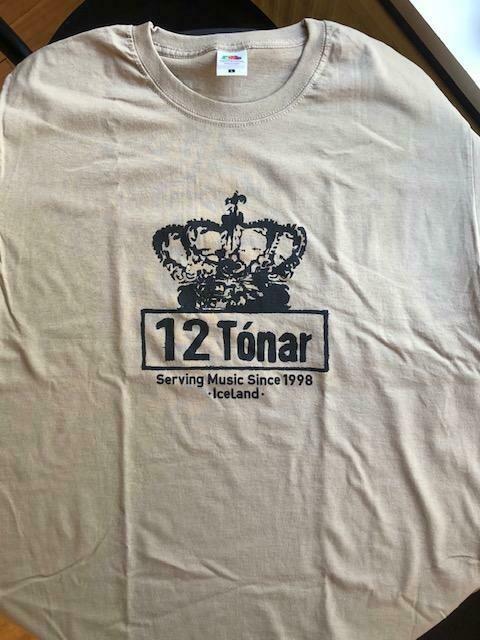 12 Tónar T-Shirt Khaki Medium