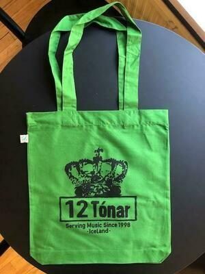 12 Tónar Tote Bag Green