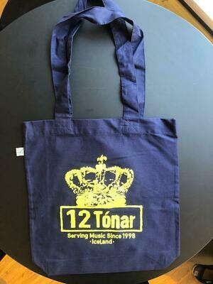 12 Tónar Tote Bag Blue