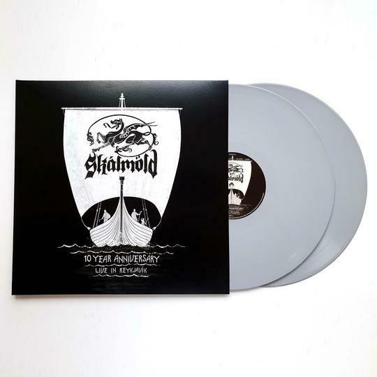 Skálmöld - 10 Year Anniversary - Live In Reykjavik 2LP (Limited Grey Vinyl)