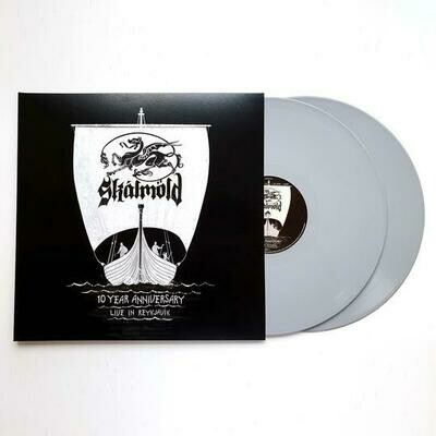 Skálmöld - 10 Year Anniversary - Live In Reykjavik 2LP (Limited Grey Vinyl)